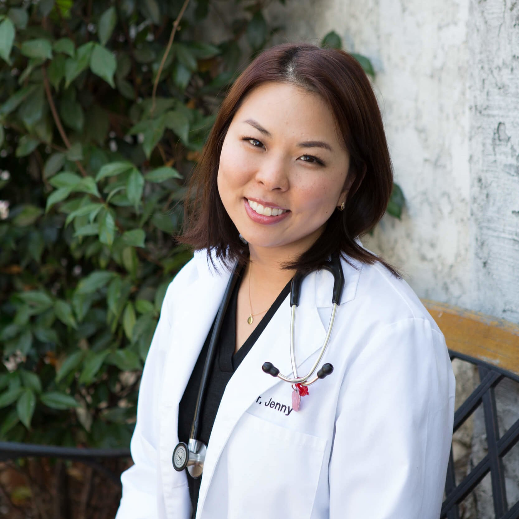 Team member Dr. Jenny Hsu